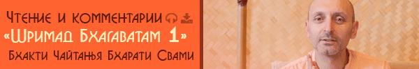 Шримад Бхагаватам 1.Чтение и комментарии Бхакти Чайтанья Бхарати Свами