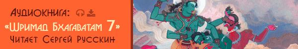 Аудиокнига Шримад Бхагаватам 7. Читает Сергей Русскин