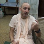 Бхакти Чайтанья Бхарати Свами. Навадвип Дхам Парикрама, 27 апреля 2013 года.