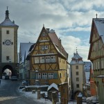 Ротенбург-на-Таубере (Rothenburg ob der Tauber) Фотографии зима 2016