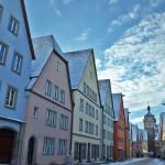 Ротенбург-на-Таубере (Rothenburg ob der Tauber) Фотографии зима 2016