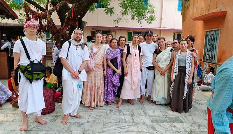 Весна 2017. Паломничество в Индию с Бхакти Чайтанья Бхарати Махараджем