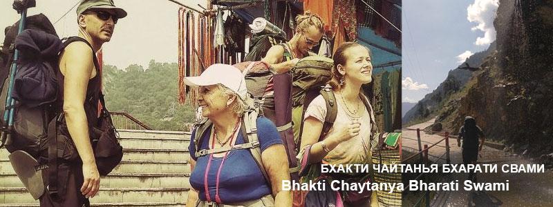 «Беседа в индийском поезде» | частная беседа с Б.Ч. Бхарати Свами (Александр Драгилев) от 20 октября 2017 года. Индия