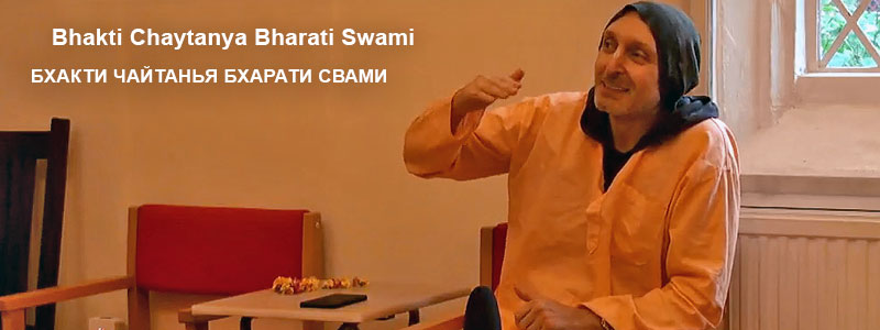 «Why we should not give up» | Talk with Sripad Bhakti Chaytanya Bharati Swami, live class the evening of 28 July 2018 at the Bhakti Yoga Institute of West London.