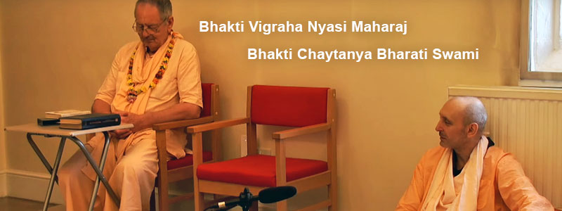 «Family duty and spiritual life» | Live class the morning of 29 July 2018 at the Bhakti Yoga Institute of West London by Sripad Bhakti Vigraha Nyasi Maharaj and Sripad Bhakti Chaitanya Bharati Maharaj.
