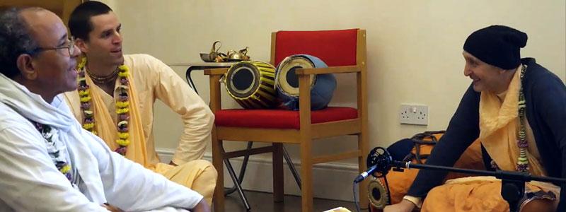«Несколько миллиметров над землёй» | Беседы с Б.Ч. Бхарати Махарадж, Б.К. Тьяги Махарадж, 19 августа 2019 года Лондон
