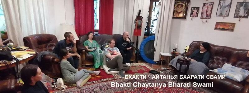 «Эмоции Души» | Частные беседы с Б.Ч. Бхарати Свами (Александр Драгилев). 12 сентября 2021 года
